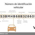 Número de identificación vehicular: ¿Para qué sirve?