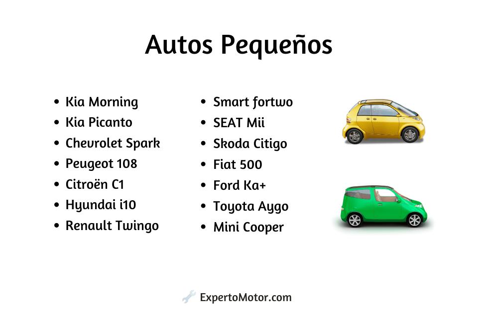 autos pequeños